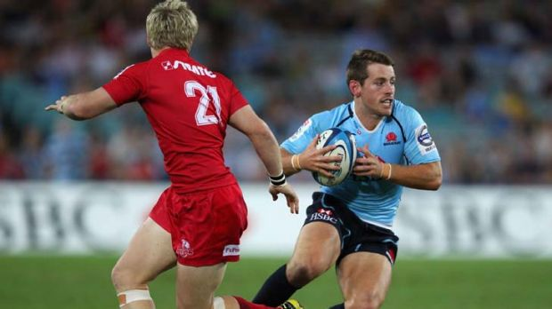 First choice … the Waratahs new starting fullback Bernard Foley plans to put his Sevens experience to use against ...