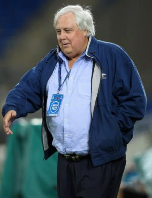 Gold Coast United chief executive Clive Palmer.