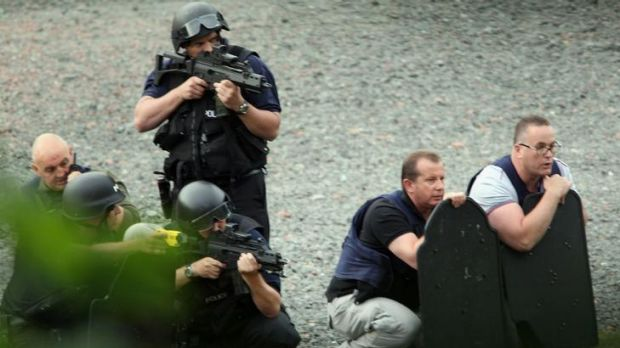Police negotiated with Raoul Moat after he shot three people in 2010.