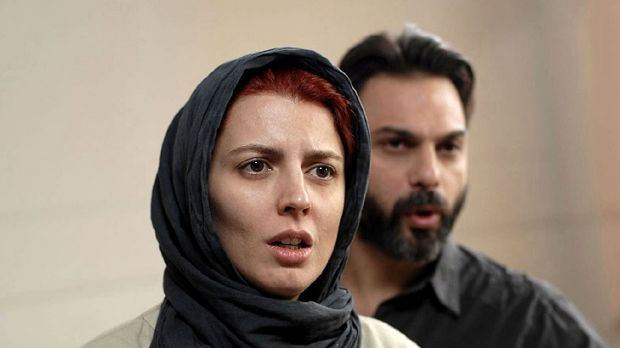 Leila Hatami and Peyman Moaadi star as a couple who decide to split in the Iranian film <i>A Separation</i>.