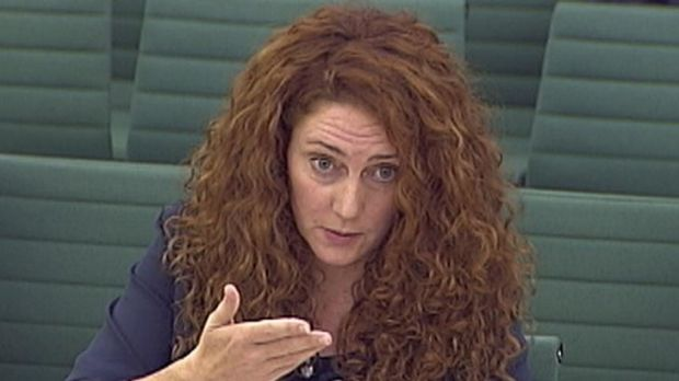 Former News International chief executive Rebekah Brooks before a parliamentary committee.