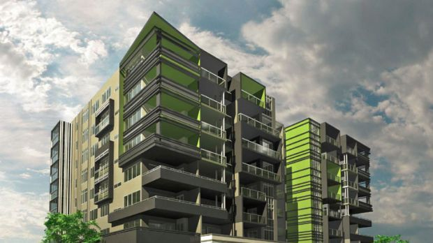 Majella Towers One, the proposed development submitted to council by the Monsour company.