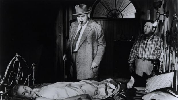 Orson Welles pulled out all the stops in 1958 film-noir <i>Touch of Evil</i>.