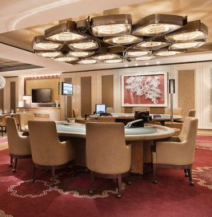 In the private gaming salons at Crown Casino, turnover on a baccarat table can be $30 million an hour.