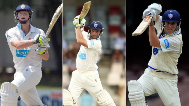 Wanted ... Steve Smith, Phillip Hughes and Nic Maddinson could all leave NSW.