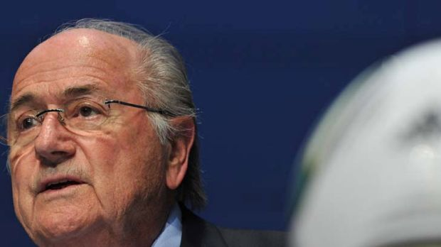 """We cannot afford to just wait and see what happens"" ... FIFA president, Sepp Blatter."