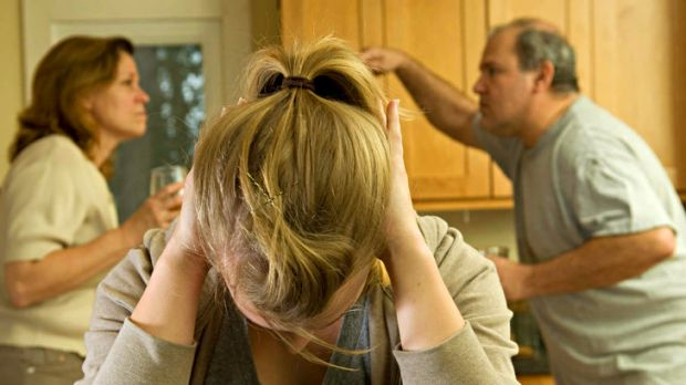 Stress ... a bad workplace impacts on family life.