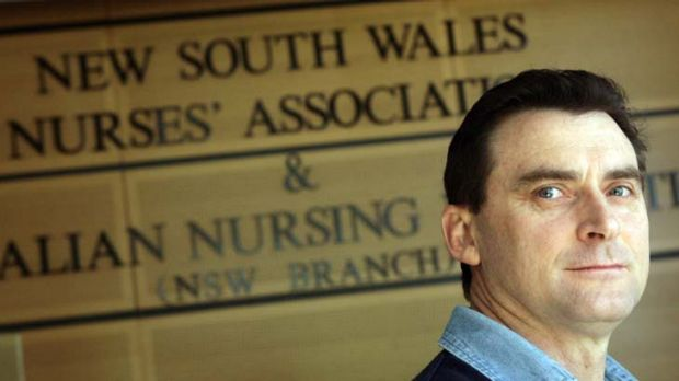 Brett Holmes … nurses' industrial action has helped improve patient care, he says.