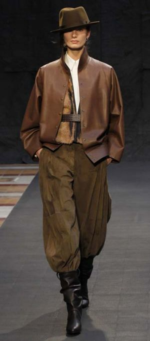 The pampas in Paris … Hermes presented the most wearable collection so far.