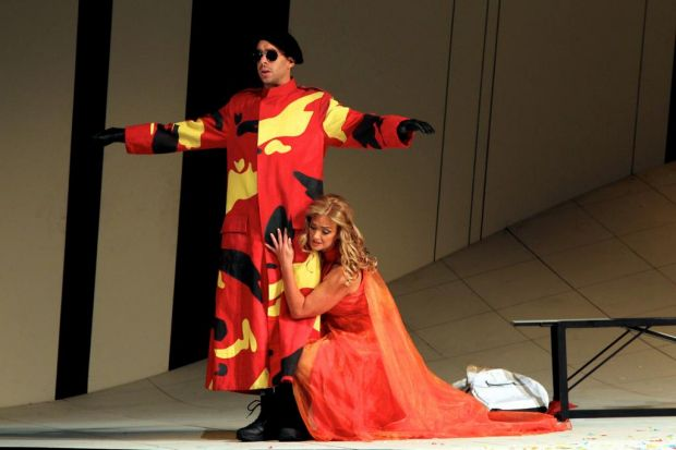Dress rehearsal for Jim Sharman's new production of Cosi fan Tutte. March 6, 2012.