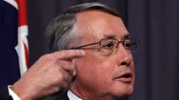"""The surplus will build over time"" ... Treasurer Wayne Swan."
