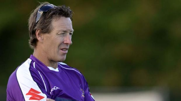 Storm coach Craig Bellamy organised the match during an off-season trip the US.