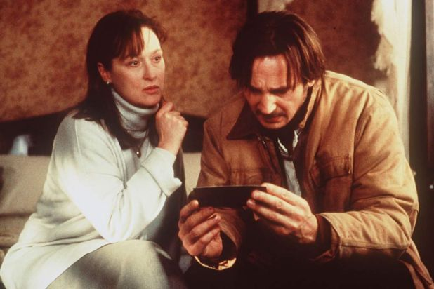 Before and After (1996) in the role of Dr Carolyn Ryan <b><br> NEXT CLUE: Co-starring Uma Thurman, Meryl plays a very ...