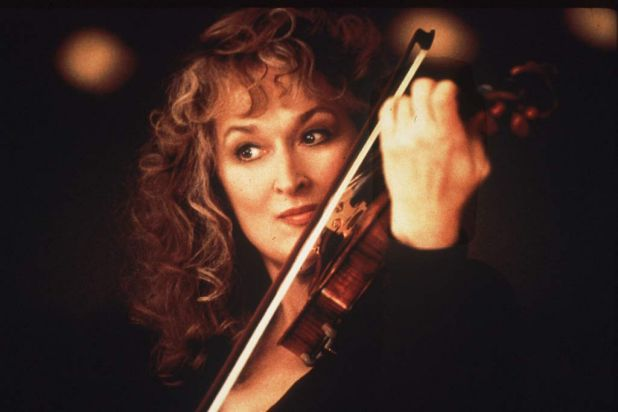 Music of the Heart (1999) in the role of Roberta Guaspari <b><br> NEXT CLUE: Co-starring Paul Giamatti, Meryl plays a ...