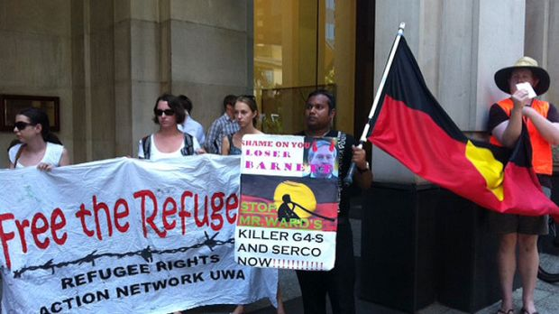 Occupy Perth, together with community activists, refugee rights activists, unionists, Aboriginal deaths in custody ...