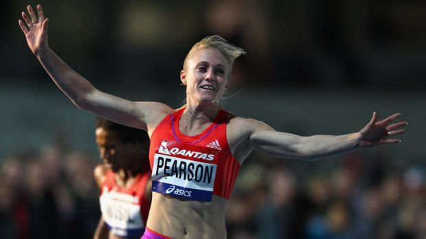 Sally Pearson ran 12.49 in the wet in Melbourne last week. That was quicker than Dawn Harper ran (12.54) to win gold at ...