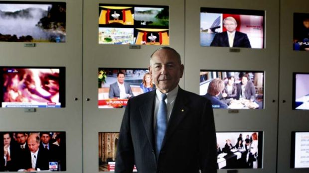 """Our ABC ... """"Under its managing director, Mark Scott, and the outgoing chairman, Maurice Newman (above) we have ..."""