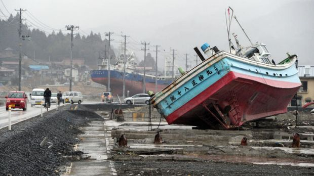 Japan's north-east coast was devastated by an earthquake and tsunami on March 11 last year.