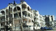 Syrian shelling destruction shown in video (Video Thumbnail)