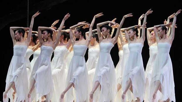 The National Ballet of China in The Peony Pavilion.