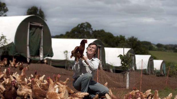 Best-laid plans … Simon Cripps-Clark says there has been a ''huge loss of confidence in free range'' due to ...