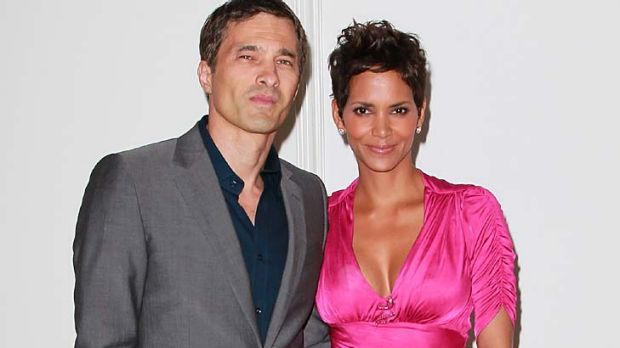 Love and marriage ... Olivier Martinez and Halle Berry.