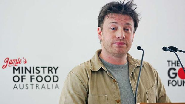 Jamie Oliver ... called a journalist a bitch.