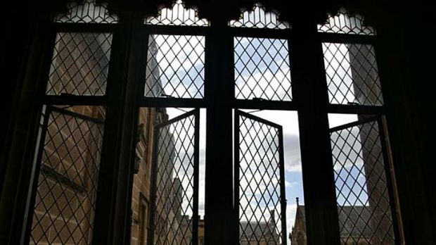 Sydney University ... where a manager is being investigated for corruption.
