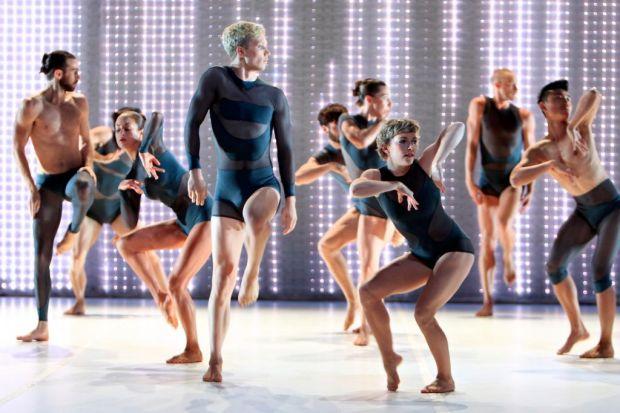 Sydney Dance Company: Dancers rehearsing.