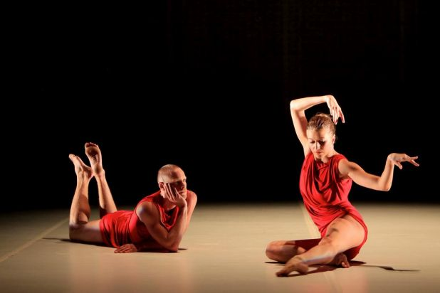 Sydney Dance Company: Dancers Andrew Crawford & Juliette Barton.