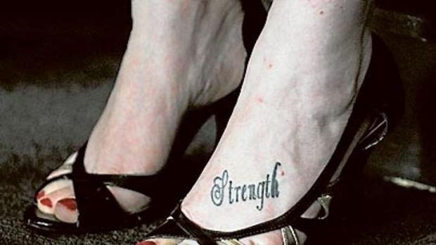 Putting a strong foot forward