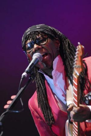 Disco legend ... Nile Rodgers of Chic headlined at WOMADelaide.