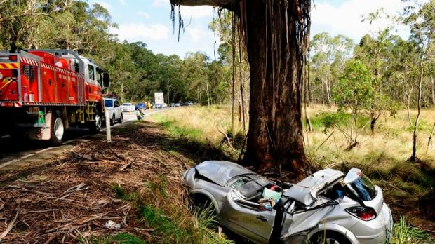 A fatal accident on the Kings Highway, 20km east of Braidwood on March 11.