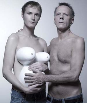 Taken to illustrate the issue of gay adoption … one of the French images used in Bob Katter's campaign against Mr ...