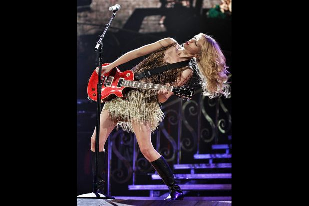 Theatrical: Taylor Swift.