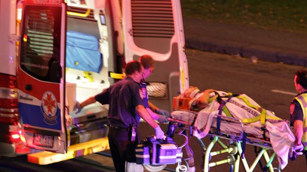 One pedestrian was hurt and another killed in the early morning incident.