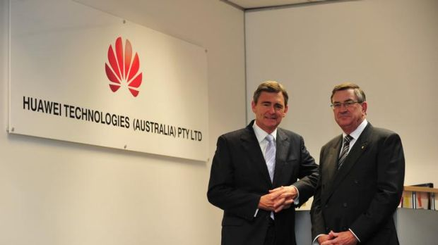 Former Victoria premier John Brumby and navy veteran John Lord are board members of Huawei Australia, along with former ...