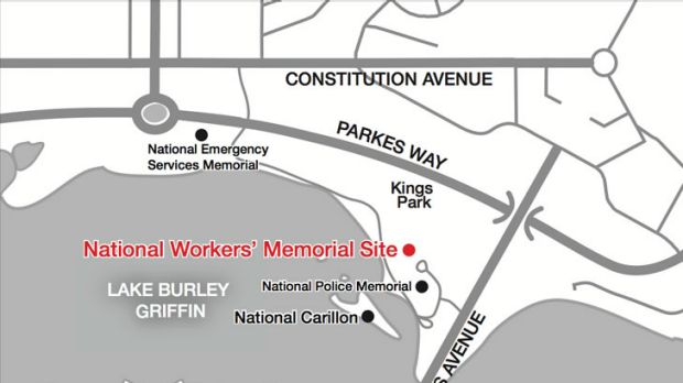 The memorial will be built in Kings Park.