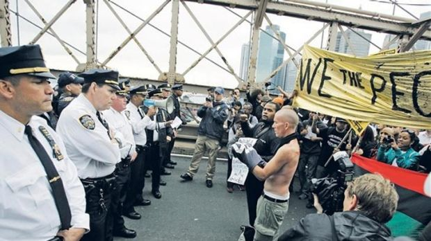 700 arrested in NewYork bridge impasse