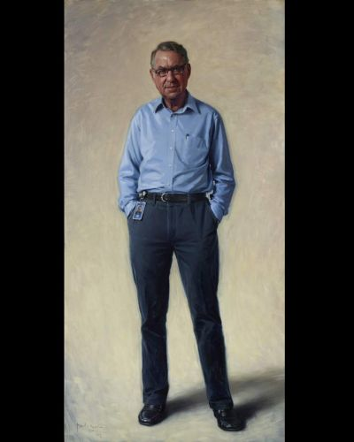 Paul Newton - Portrait of David Gonski ac