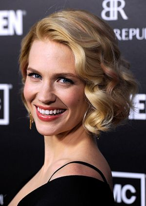 January Jones, who plays Betty in the hit show.