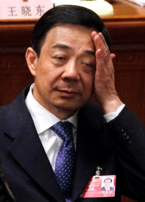Under pressure ... Chongqing governor Bo Xilai has resigned amid a scandal involving his former police chief.