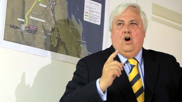 """""""You can't treat citizens that way"""" ... Clive Palmer."""
