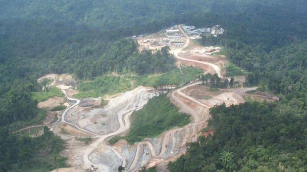 Situation unclear: Newcrest's Gosowong goldmine in North Maluku, Indonesia.