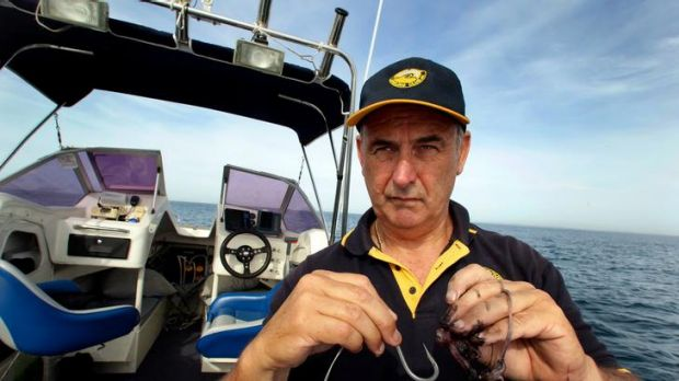 Goodbye crooks, hello sharks: Phil Swindells is bowing out of crime-fighting to spend more time fishing.