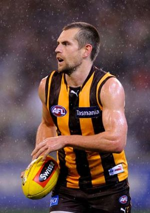 Luke Hodge will miss the clash with Collingwood.