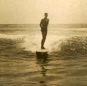 Manly surfer.