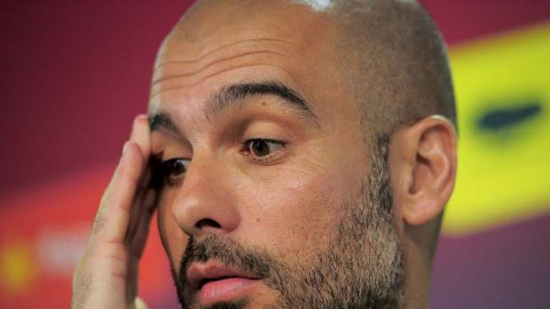 Migraine averted ... Barcelona coach Josep Guardiola will not have to face bitter rival Jose Mourinho and his fancied ...