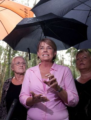 Anna Bligh: Trails Campbell Newman as preferred Premier.