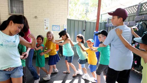 ''Let people know'' … children at North Parramatta Out of School Hours Care, where the co-ordinator says the ...